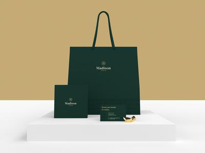 Madison Jewelry Branding Elements