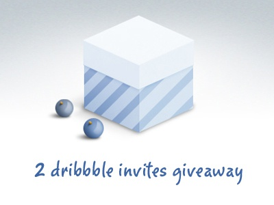 Dribbble invites giveaway dribbble invite giveaway box gift
