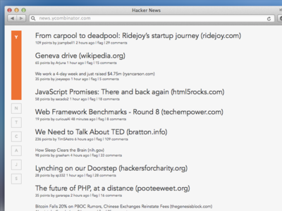 Hacker News Refresh