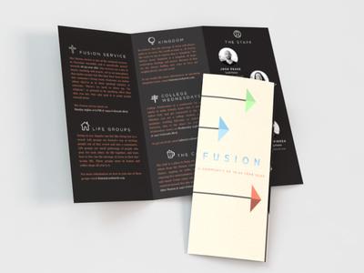Fusion Brochure print brochure