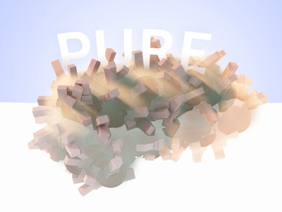 Pure Garbage modo advert pollution type 3d
