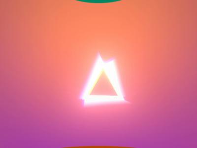 △ triangle light ae motion vector design