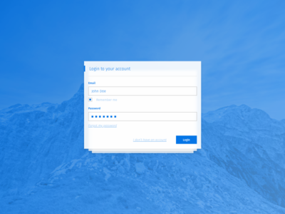 Login Screen 2 Step Verification