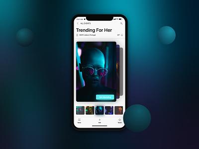 iOS 11 iPhone X Event Photo Gallery iphone x ios 11 event fashion neon photo trend gallery iphone apple ios