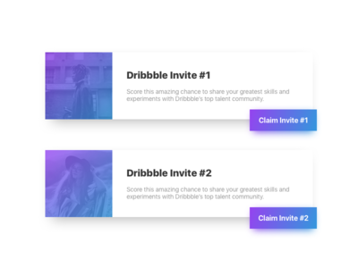 2 Dribbble Invites ux interface experience user ui prospect invite dribbble