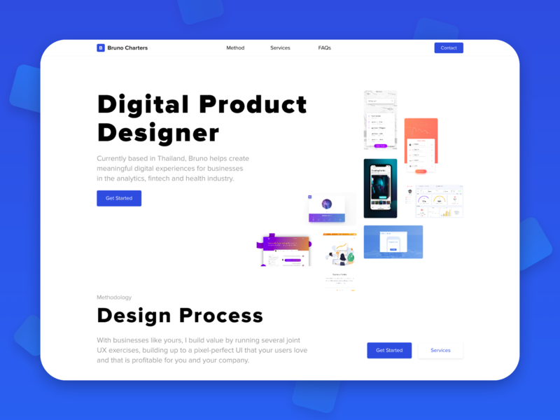 UX/UI Website minimal digital product digital product design portfolio freelancer design gradient desktop clean layout typography website web ui ux