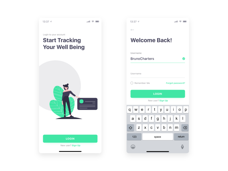 Login Screen | Daily UI dailui dailyui 001 galaxy 10 iphone xs iphone x digital illustration illustration detail design dashboard layout login product app clean ux ui