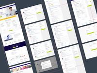 Course builder interaction design user flow user experience ui design ui ux design ux