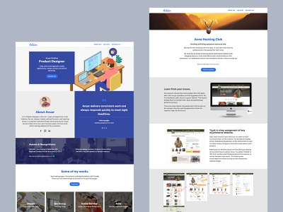 My old portfolio website case-study portfolio webdesig website
