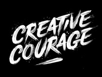 Creative Courage Lettering