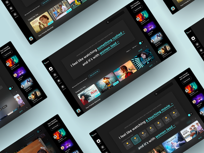 Movies Desktop App - Showcase movies app search discovery movies ux design ux ui design design ui