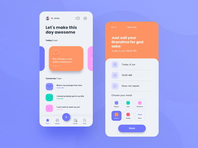 moood app mood mobile app to do app tasks app ux design ux ui design design ui