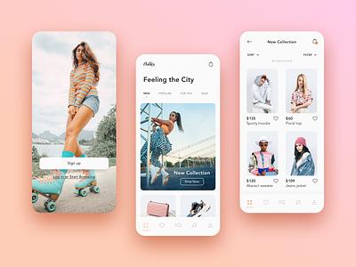 e-Commerce App case study ecommerce app e-commerce app mobile app ux design ux design ui design ui
