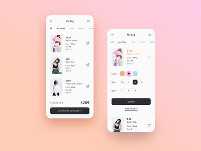 e-Commerce App ecommerce case study ecommerce app e-commerce app mobile app ux design ux design ui design ui