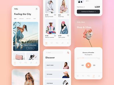 e-Commerce App ecommerce e-commerce app case study mobile app ux design ux design ui design ui