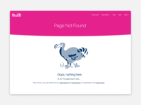 Bub Page Not Found