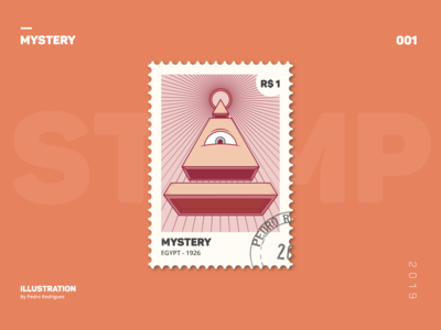 PORTFOLIO STAMP COLLECTION  MYSTERY EGYPT