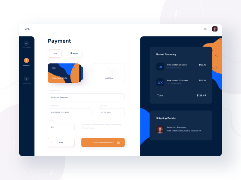 Checkout Process - Payment