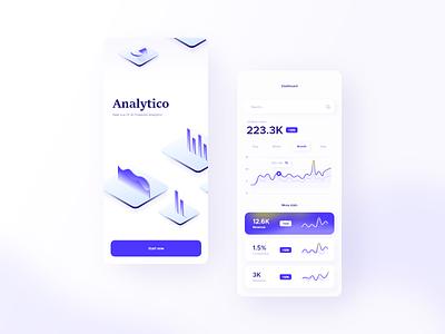 Analytics Dashboard analytics chart chart design mobile app design mobile app ui design analytics dashboard app chart analytics analytics app