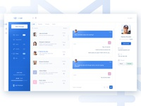 Mail client app - chat