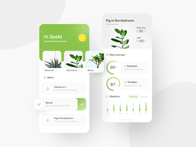 Plant App ios app app ios app design app desing design plant app plants