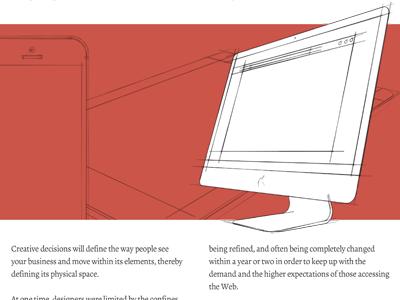 White Paper Design illustration 3d sketch sketchy print design
