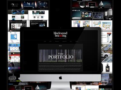 Blackwood Branding Website & Logo Design
