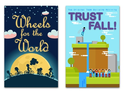 Trust Fall! & Charity- Vector Posters - 2 out of 16