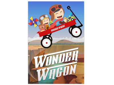 Wonder Wagon - New Program Poster