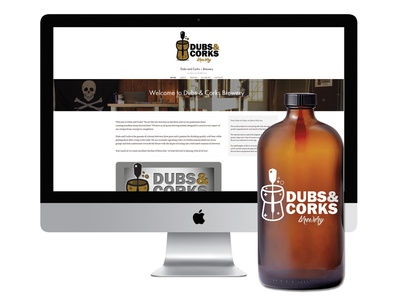 Dubs & Corks Brewery Website