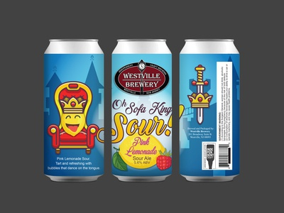 Westville Brewery Oh Sofa King Sour Pink Lemonade Sour Ale