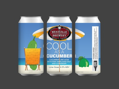 Westville Brewery Cool As A Cucumber - Lime Gose