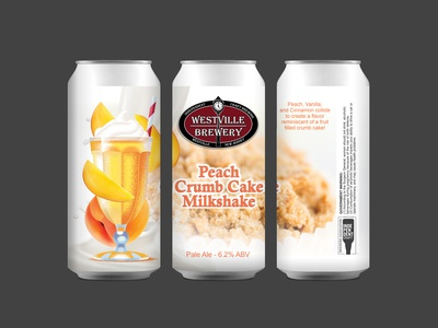 Westville Brewery Peach Milkshake Crumb Cake - Pale Ale
