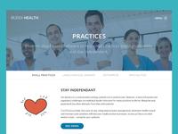 Web page - Mock (WIP)