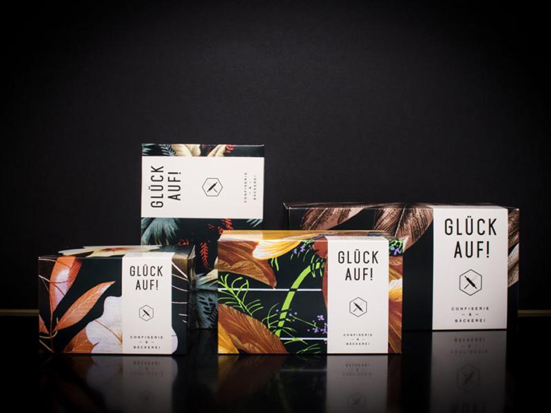 Hohoffs — Cake Packaging graphic design typography pattern branding packaging