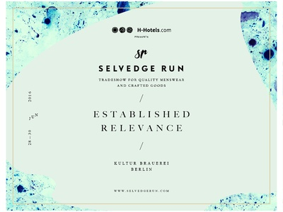 Selvedge Run 'Established Relevance' — Branding & Graphics