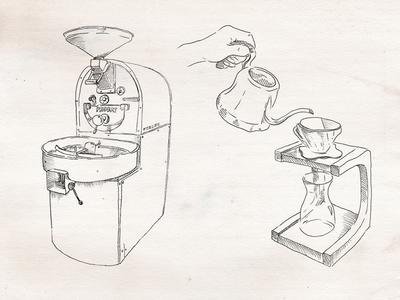 Fancy Coffee illustration