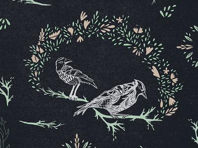 Bird Pattern: Detail