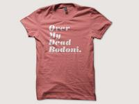 Over My Dead Bodoni