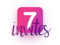 7 Dribbble Invites