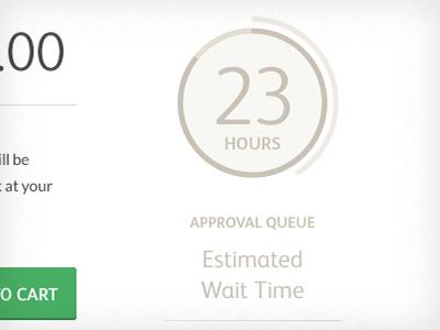 Minimal Clock Countdown clock countdown timer everguide ricky synnot design flat