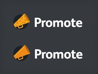Promote Logo options