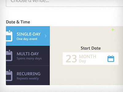 Date selector everguide promote date selector ui event australia ricky synnot