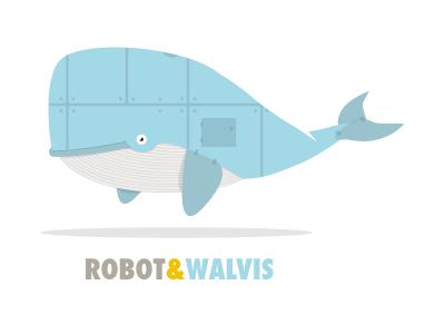 Robot walvis