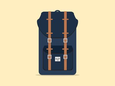 Herschel backpack (freebie)