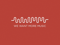We Want More Music Logo