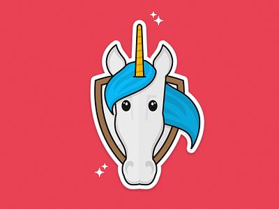 Unicorn sticker unicorn