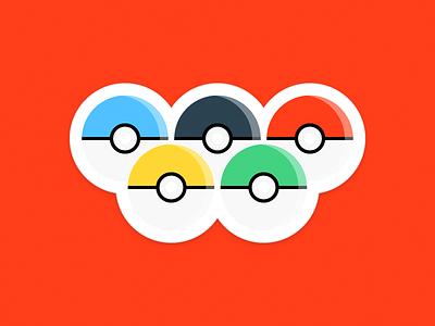 Pokelympics go pokeball pokemon olympics