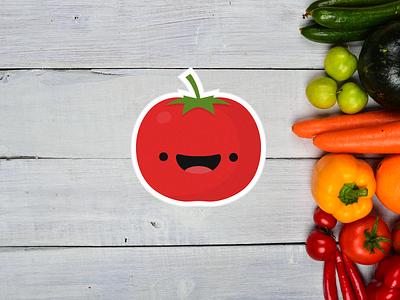 Happy Tomato tomato happy