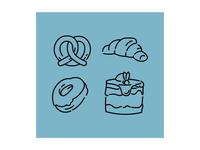Pastry set.
